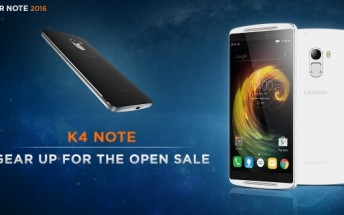 Lenovo K4 Note to go on open sale starting next week