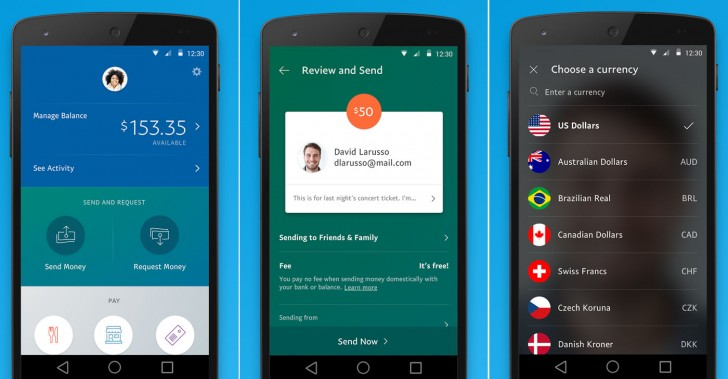 Paypal App Windows Phone