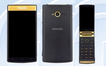 Android-powered flip phone Philips V800 passes through TENAA