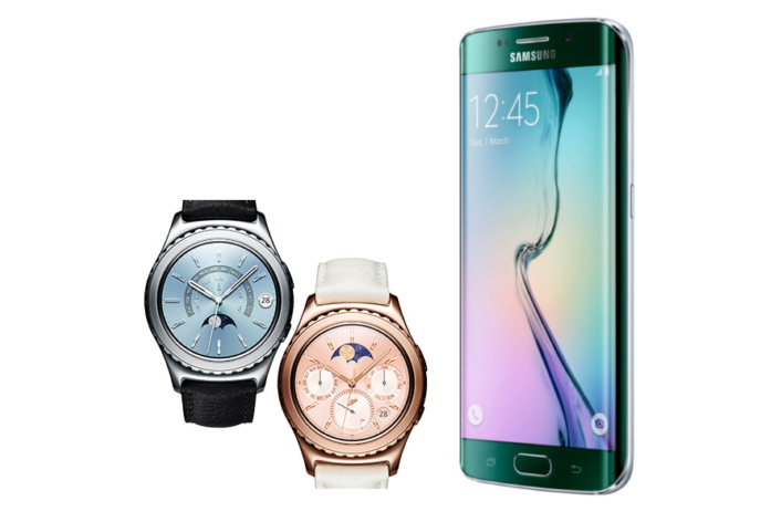 mwc 2016  samsung u0026 39 s galaxy s6 edge and gear s2 bag best smartphone and connected device awards