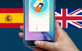 Samsung Pay launching in the UK and Spain