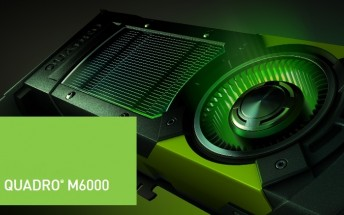 NVIDIA's latest in professional graphics is a 24GB Quadro M6000