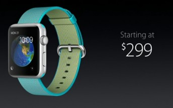 Apple drops the Watch price down to $299, introduces new band