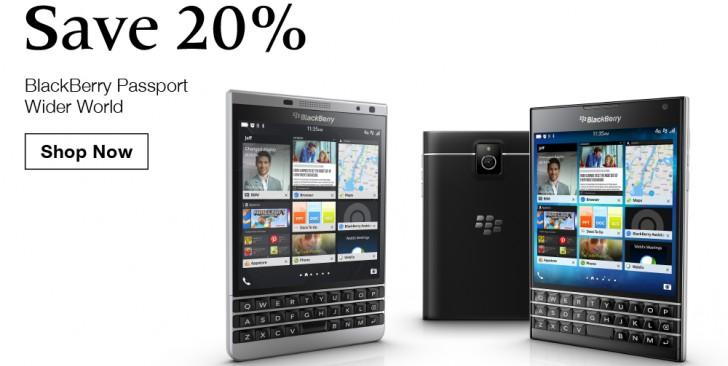 blackberry passport deals in us