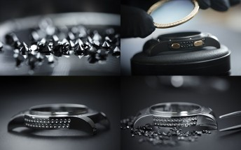 Diamond-clad Samsung Gear S2 by de Grisogono will cost $15,000