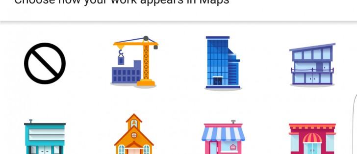 google maps lets you label your favorite places with cute stickers gsmarena blog. Black Bedroom Furniture Sets. Home Design Ideas