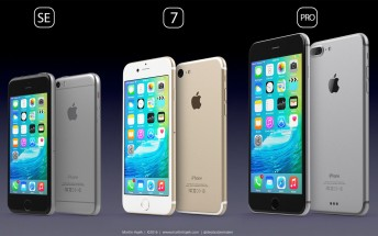 Recreating the iPhones from rumors: the iPhone 7, SE and Pro
