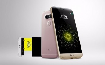 LG G5 arrives in the US in early April with free second battery and charging cradle