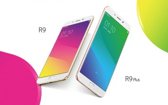 Oppo sells more than 180,000 R9 and R9 Plus units during their first day of availability