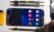 Will the Samsung Galaxy S7 edge bend, scratch, or burn?