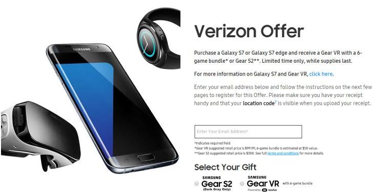 Aanbieding Samsung S7 edge met gratis Gear Kooptip: gratis Gear VR bij Galaxy S7 en Galaxy S7 Edge (update Samsung Galaxy S7 tijdelijk met gratis virtual reality-bril!