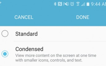 Galaxy S7 has a native DPI setting, but it's tucked away somewhere…