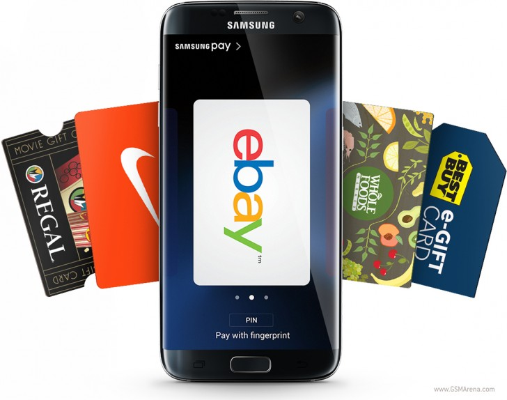 Use Samsung Pay on your Galaxy S7 or S7 edge, get a free $30 gift ...