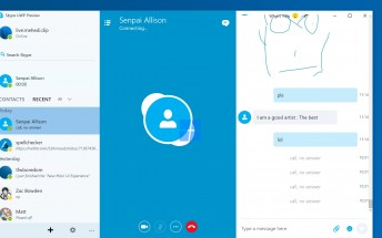 A sneak peek at Microsoft's upcoming Skype Universal app
