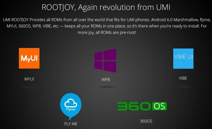 UMi Touch is a MediaTek-powered WP flagship - GSMArena com news