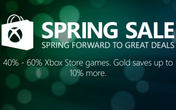 Xbox Spring sale is now on : up to 60% off Xbox and PC games