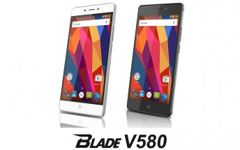 ZTE Blade V580 now official in Japan