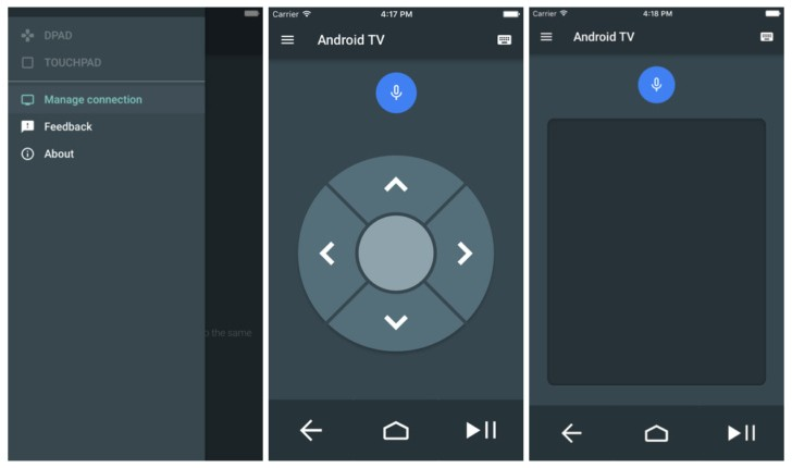 Google outs Android TV remote app for iOS - GSMArena blog