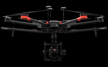 DJI announces the Matrice 600 aerial photography drone