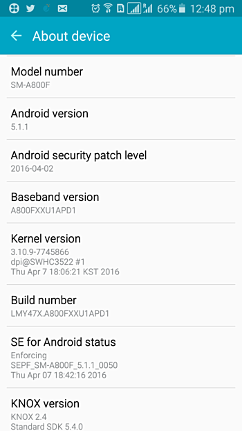 On The Other Hand Galaxy A3 Update