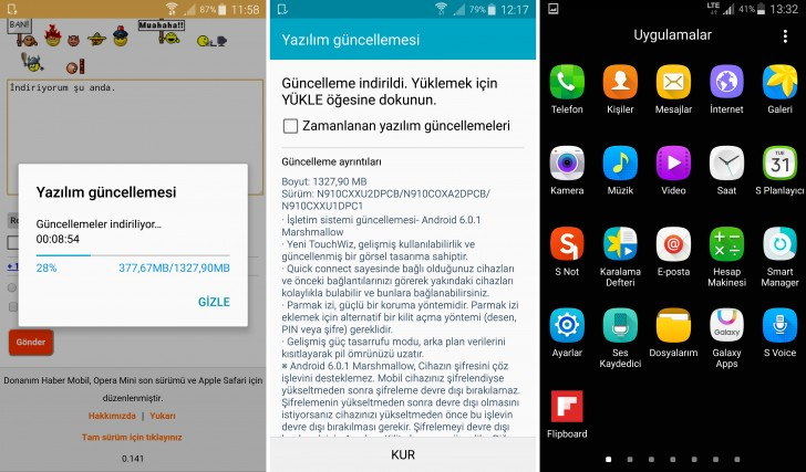 Samsung Galaxy Note 4 N910C gets Marshmallow - GSMArena com news