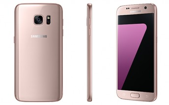 New 'Pink Gold' color variant of Galaxy S7 and S7 edge launched