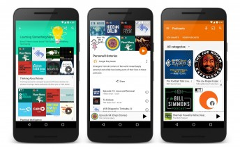 Google Play Music officially adds podcasts