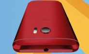 Japan-exclusive Camillia Red version of HTC 10 looks gorgeous