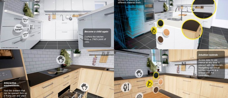 Ikea vr experience lets you test drive kitchens before you - App to change color of kitchen cabinets ...