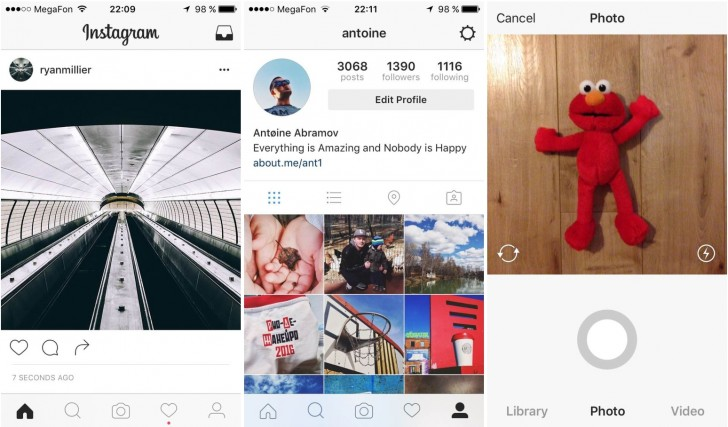 how to make apps like instagram auto rotate