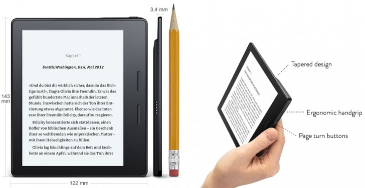 Kindle Vs Sony Reader: New Amazon Kindle Oasis Brings Leather Covers, Better