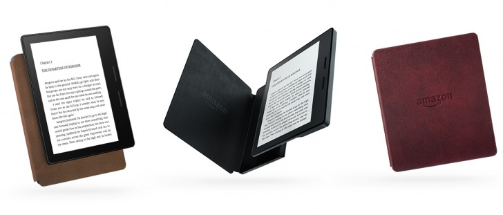 New Amazon Kindle Oasis brings leather covers, better