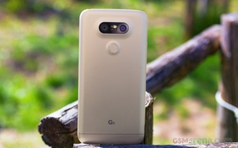 LG G5 torture tests come online, it turns out quite sturdy