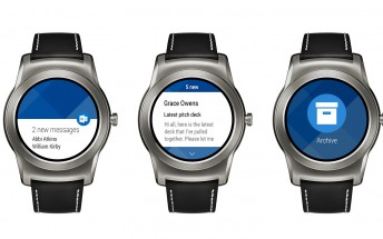 Outlook app now available on Android Wear