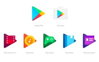 Google updates Google Play icons