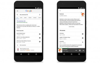 You can now listen to podcasts inside the Google search app for Android