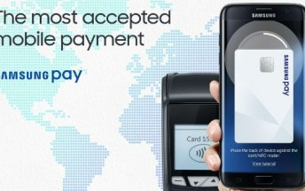 Samsung Pay coming to Singapore this quarter