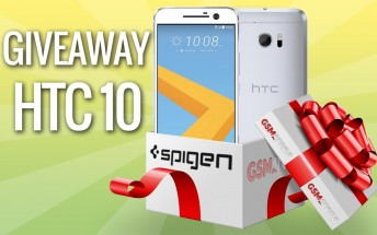 GSMArena giveaway: Enter to win an HTC 10, get discount codes on cases