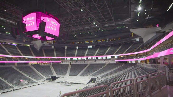 T Mobile Arena Opens In Vegas Here S A First Look Gsmarena Blog