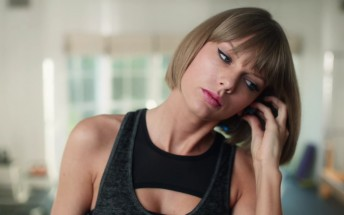 Taylor Swift trips up in latest Apple Music commercial
