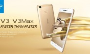 Metal-clad vivo V3 and V3Max introduced