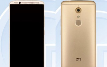ZTE Axon 2 leaked by TENAA, Snapdragon 820 confirmed