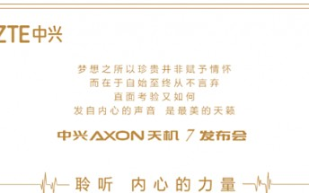 ZTE's upcoming flagship to be called Axon 7; unveiling set for May 26