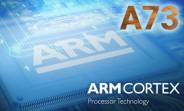 Cortex-A73 will improve flagship battery life, mid-range performance