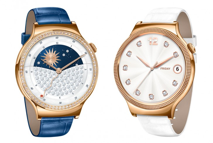 huawei jewel. jewel and elegant are internally identical to the standard huawei watch but externally try conform women\u0027s design. c