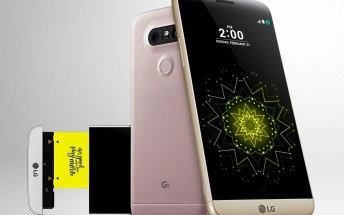 LG G5 lands in Taiwan as G5 Speed