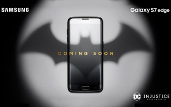 Samsung teases Batman-themed Galaxy S7 limited edition