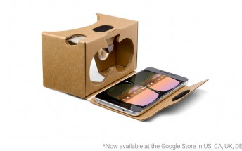 Google Cardboard lands on company's online stores in UK, France, Germany, and Canada