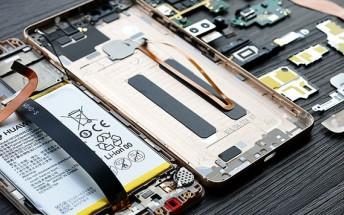 Huawei Honor V8 teardown reveals hardware similar to P9's