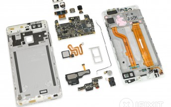 Huawei P9 teardown by iFixit yields 7 out of 10 repairability score